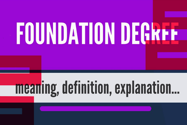 Study Foundation Degree